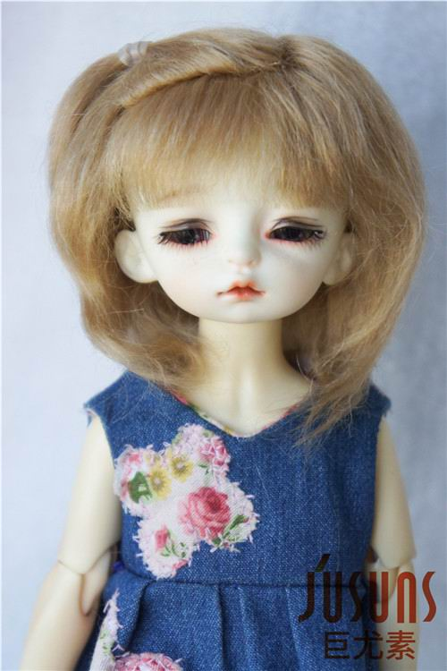 Bjd Wig Curly Mohair 13