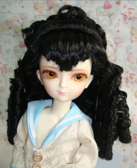 Как сделать волосы кукле из мохера